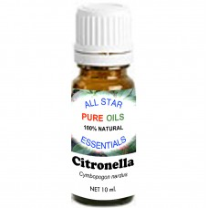 100% Natural Citronella Essential Oil