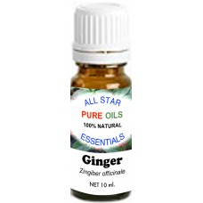 100% Natural Ginger Essential Oil