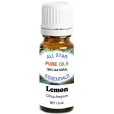 100% Natural Lemon Essential Oil