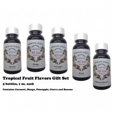 Tropical Fruit Flavors Gift Set